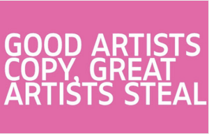 """Good Artists Copy, Great Artists Steal"", en la web del Rijksmuseum"